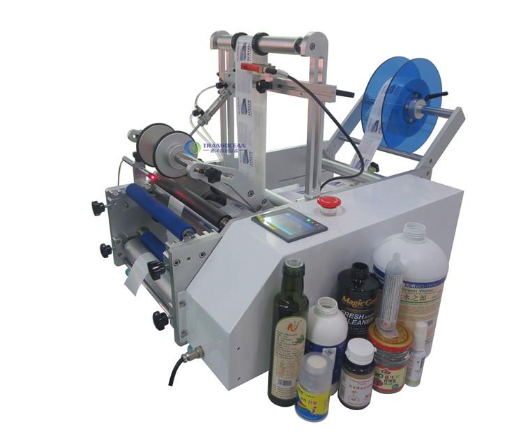 TY-601 半自动圆瓶贴标机