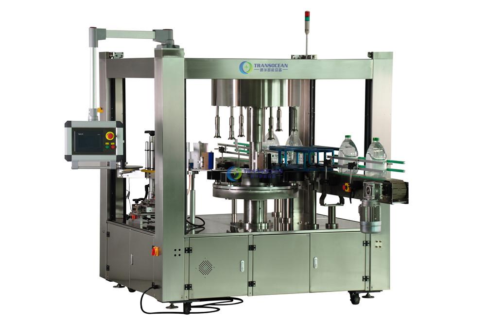 TYBF-06041R 全自动旋转式方瓶不干胶贴标机