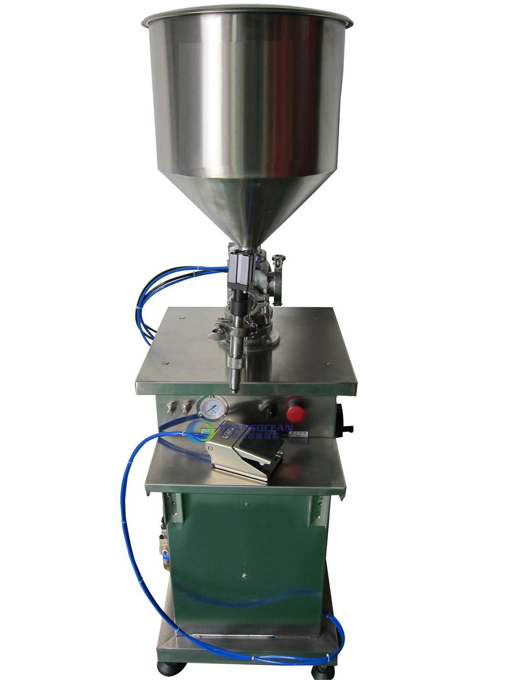 TY-502 立式膏体灌装机