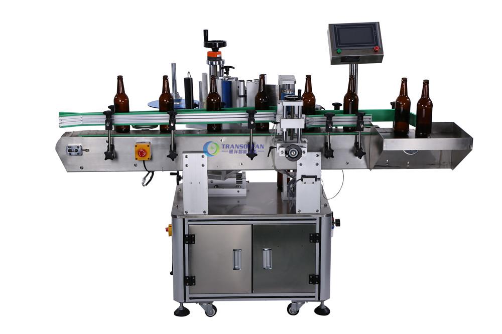 TY-603 自动定位圆瓶贴标机