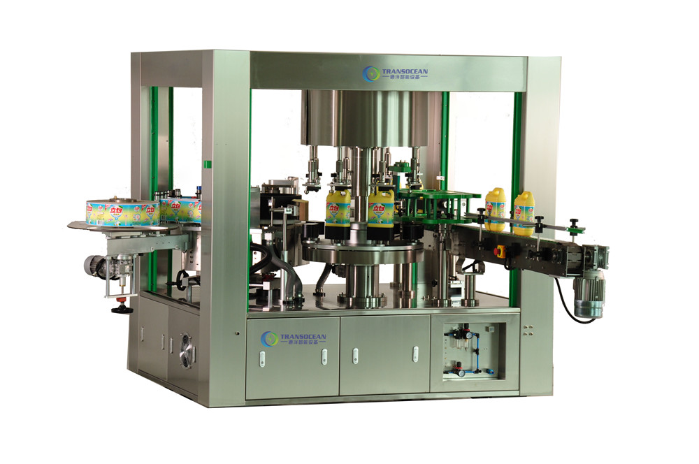 TYRF-0806R全自动OPP热熔胶方瓶贴标机